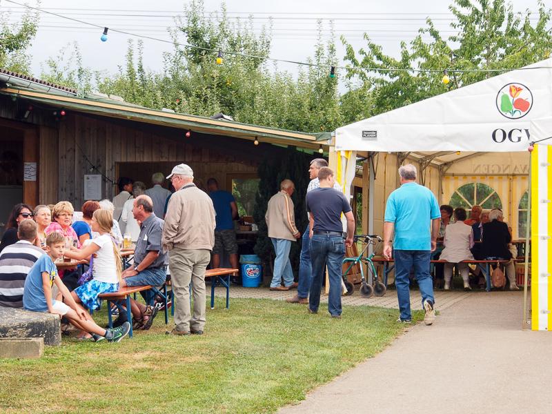 Sommerfest 2015 Obst- und Gartenbauverein Bünzwangen e.V.
