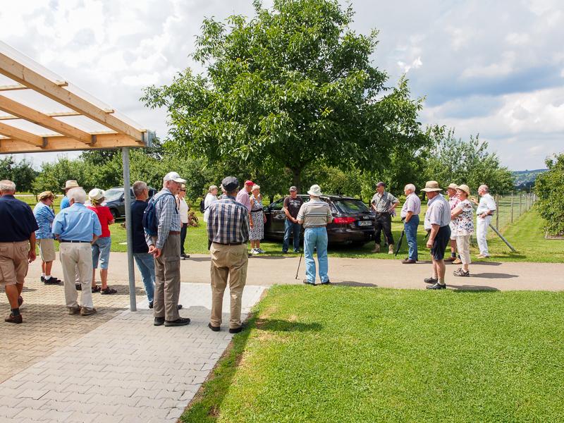 OGV Bünzwangen Sommerwanderung 2016
