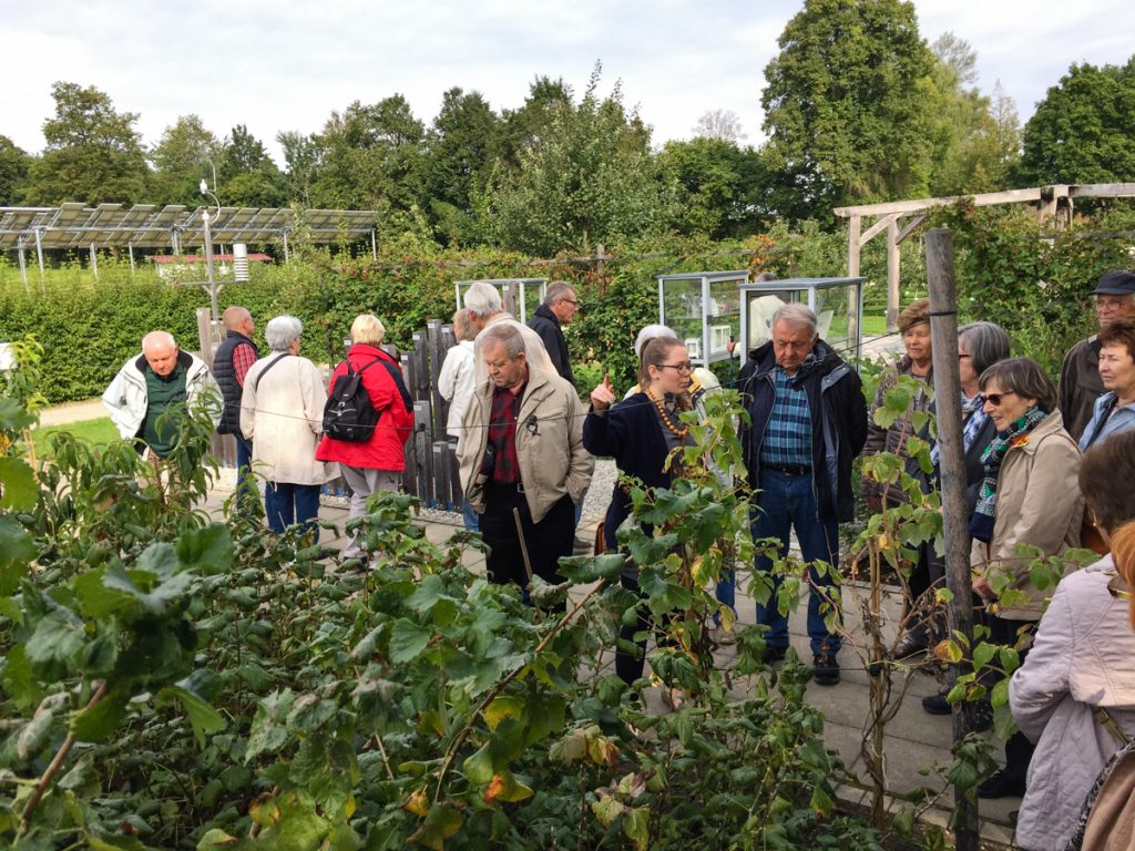 Besichtigung der Weihenstephaner Gärten